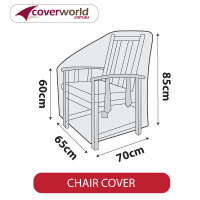 Outdoor Chair Cover - 65cm Length