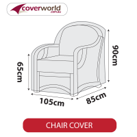 Outdoor Chair Cover - Oversized - 105cm Length