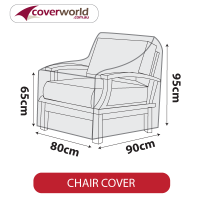 Outdoor Chair Cover - 80cm Length