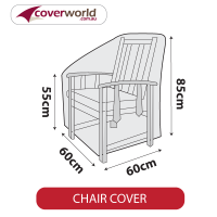 Outdoor Chair Cover - Mid Size - 60cm Length