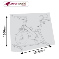Exercise Bike Cover 135cm