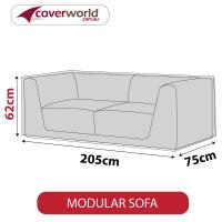 Modular Sofa Cover - 205cm Length