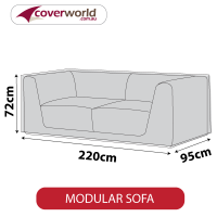 Modular Sofa Cover - 220cm Length