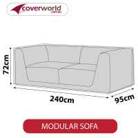 Modular Sofa Cover - 240cm Length
