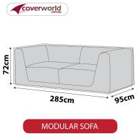 Modular Sofa Cover - 285cm Length