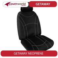 F250 Dual Cab - 3 Front Seats Models - July 2001 to June 2007 - Neoprene