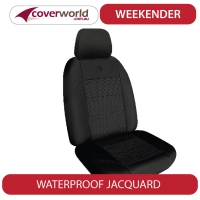 Amarok Seat Covers - Dual Cab Ute - Weekend Jacquard - 2H Series (except Ultimate)