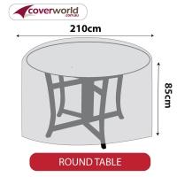 Round Table Cover - 210cm Diameter