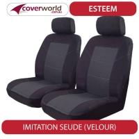 Seat Covers - Everest Wagon - UA Series - Black Velour