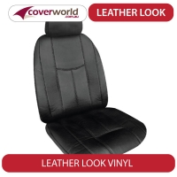 Mazda 3 Seat Covers - Leather Look - BM and BN Series - Sedan Neo and Neo Sport Badges - 2013 to Feb 2019