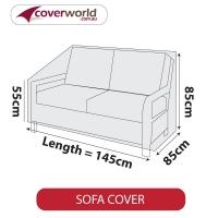 Patio Sofa Cover - Up to 145cm Length