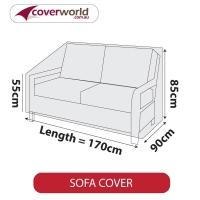 Patio Sofa Cover - Up to 170cm Length