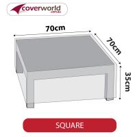 Small Square Cover - 70cm