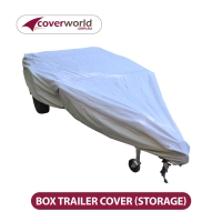 Box Trailer Outdoor Storage Cover - Suits 6x4 - 7x4 - 7x5 Trailers
