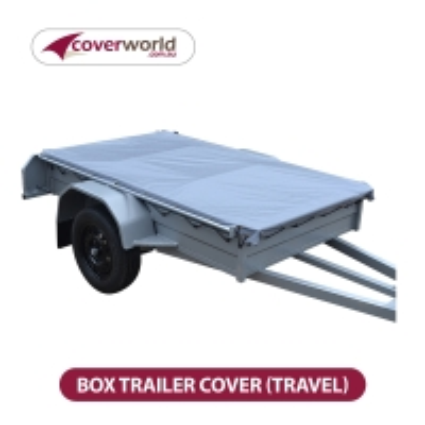 6' X 4' Box Trailer Cover - Rip Stop PVC