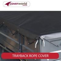 Custom Trayback Dropside Tonneau Stretch Cord Style