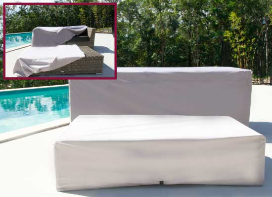 Outdoor Modular Furniture Setting covers by Coverworld.com.au