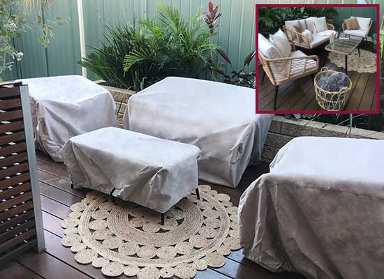 Patio Chair Covers by Coverworld.com.au